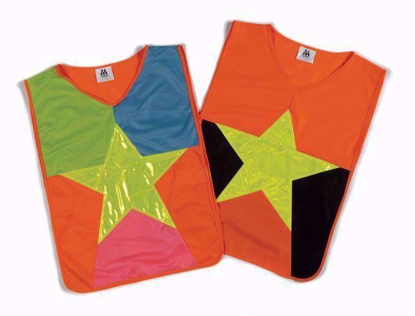 Product afbeelding: Fluoricerend vestje met ster