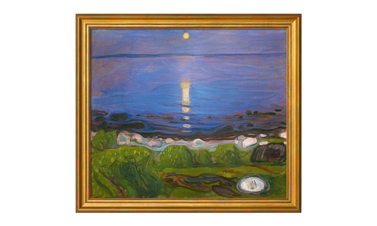 Product afbeelding: Munch - Een zomernacht op het strand