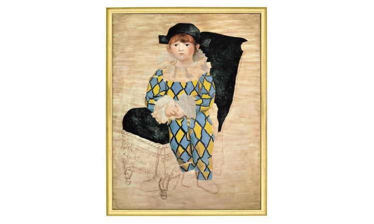 Product afbeelding: Picasso - Paul als Harlekijn (1924)