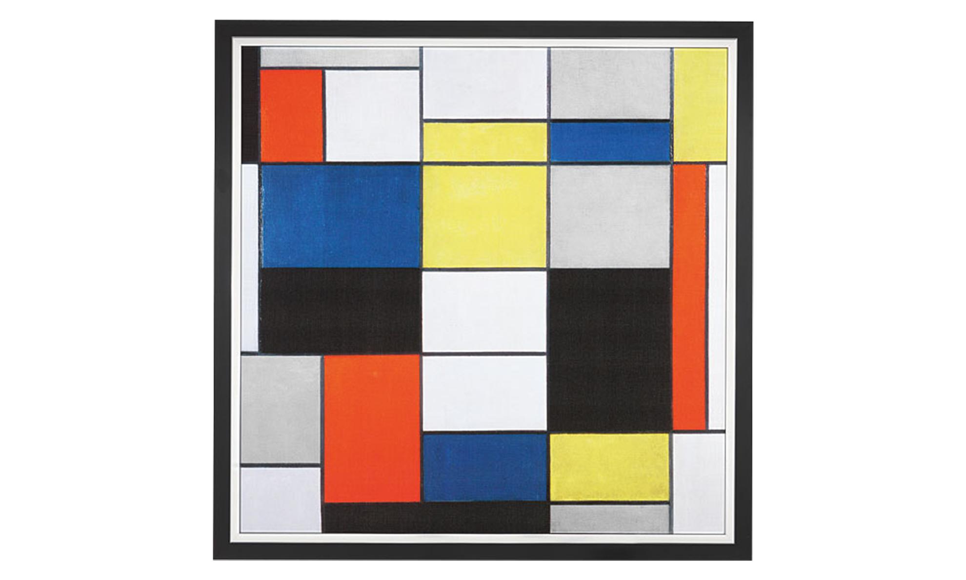 Product afbeelding: Piet Mondriaan - Grote compositie A