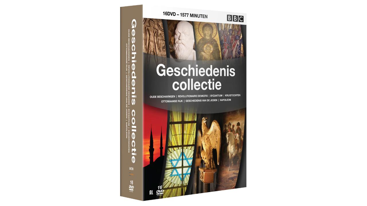 Product afbeelding: BBC Geschiedeniscollectie  DVD-box