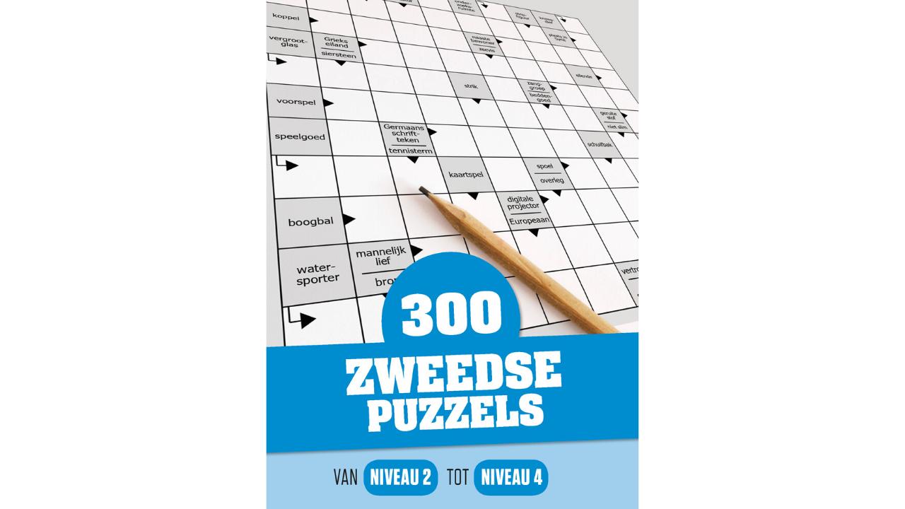 Product afbeelding: 300 Zweedse Puzzels