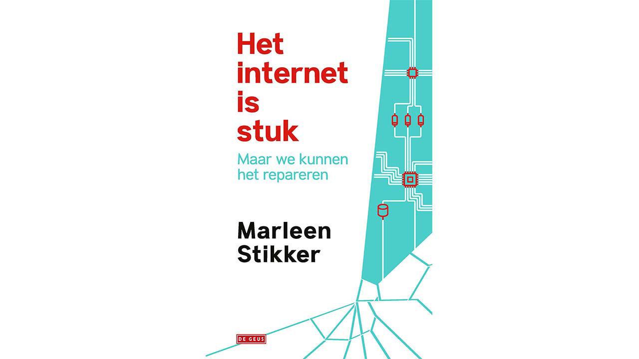 Product afbeelding: E-Book: Het internet is stuk – Marleen Stikker