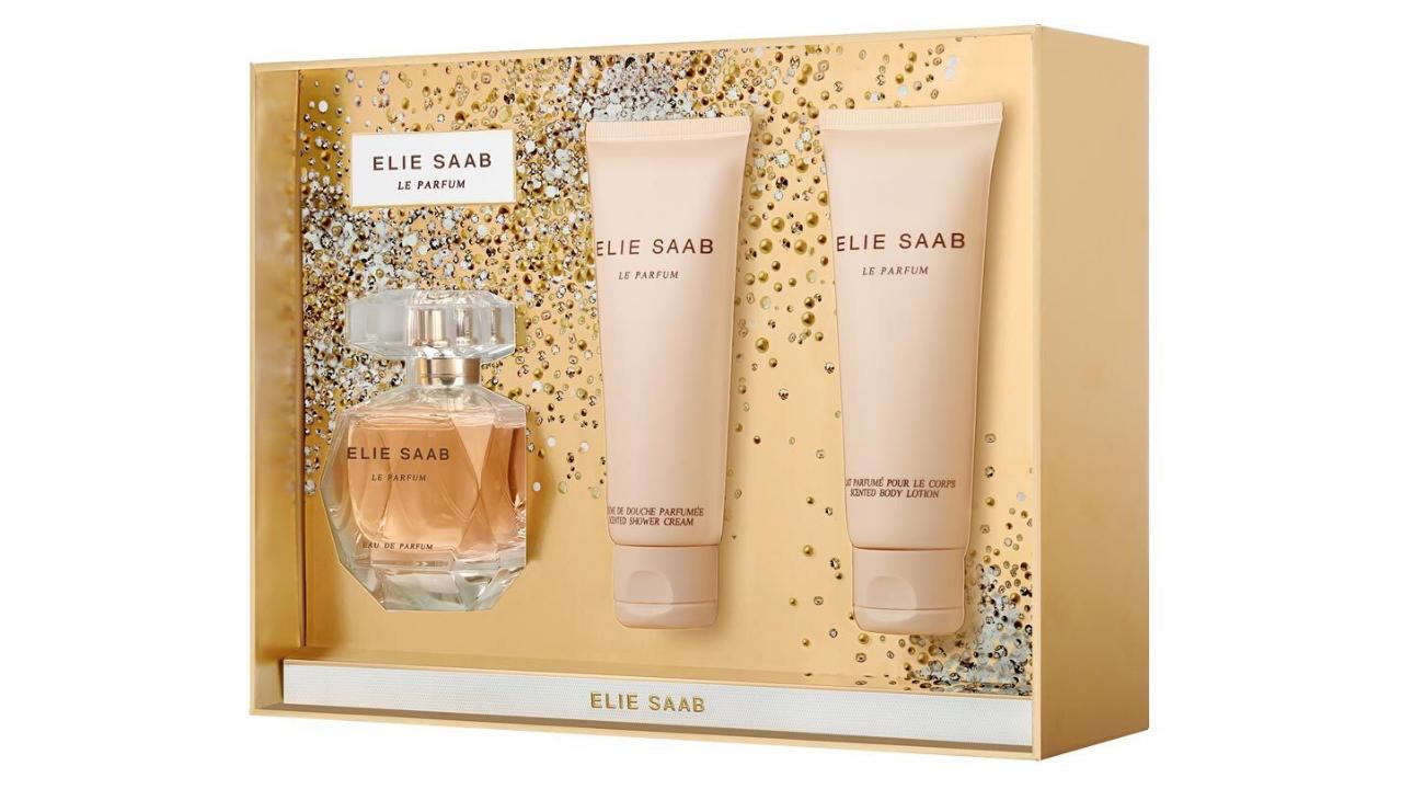 Product afbeelding: Set Elie Saab - Parfum + Bodylotion + Showergel