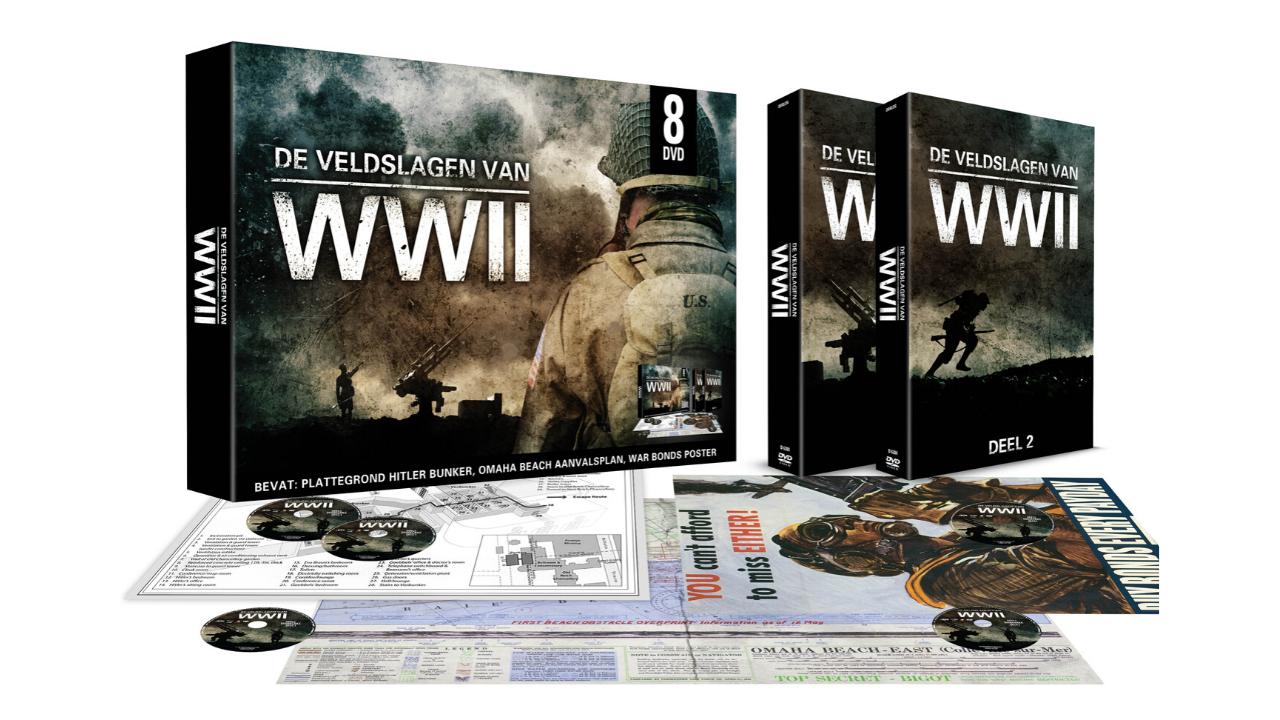 Product afbeelding: De Veldslagen van WW II