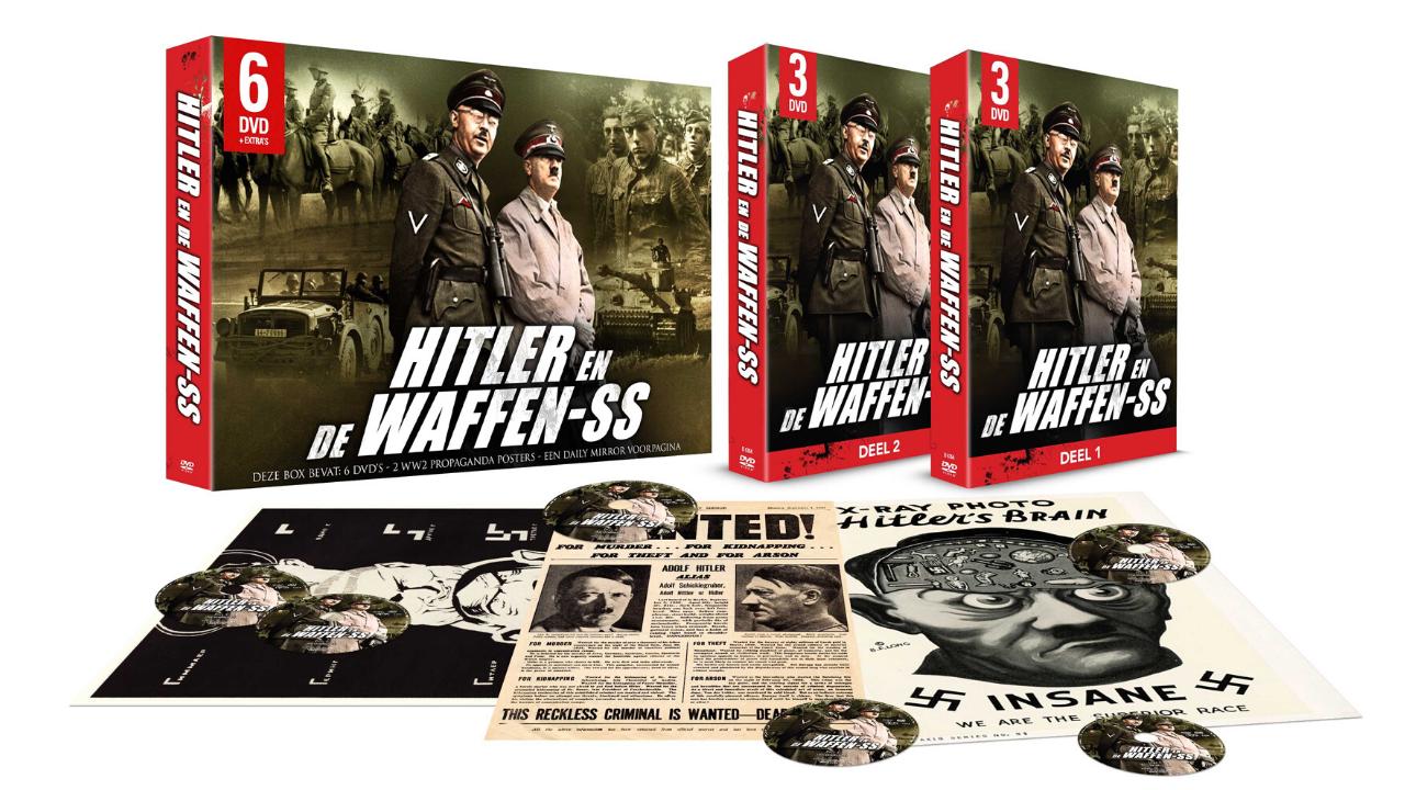 Product afbeelding: Hitler en de Waffen SS