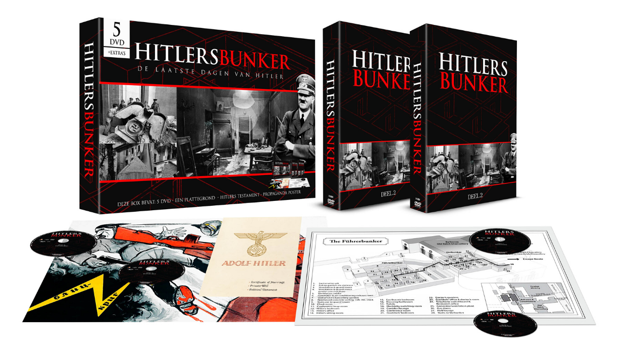 Product afbeelding: Hitler's Bunker