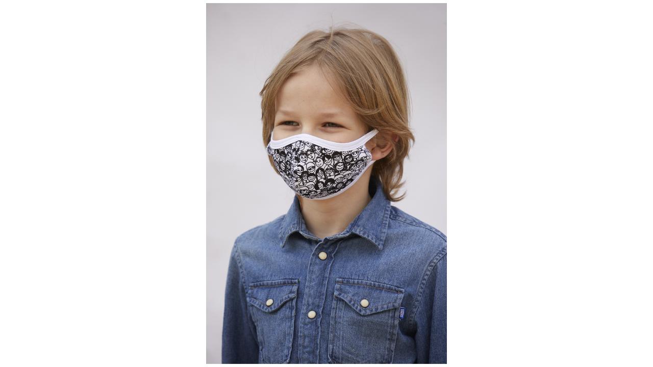 Product afbeelding: Mondmaskers Kinderpakket (4 stuks)