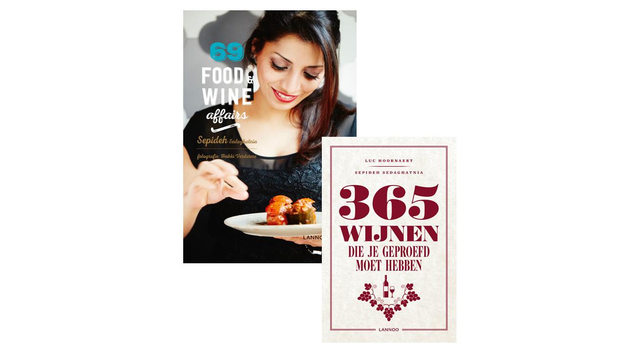 Product afbeelding: Boekenpakket Sepideh: Alles over wijn
