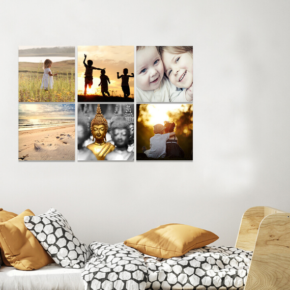 Product afbeelding: 4 x Vierkante foto