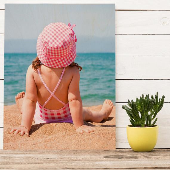 Product afbeelding: Foto op houten plaat
