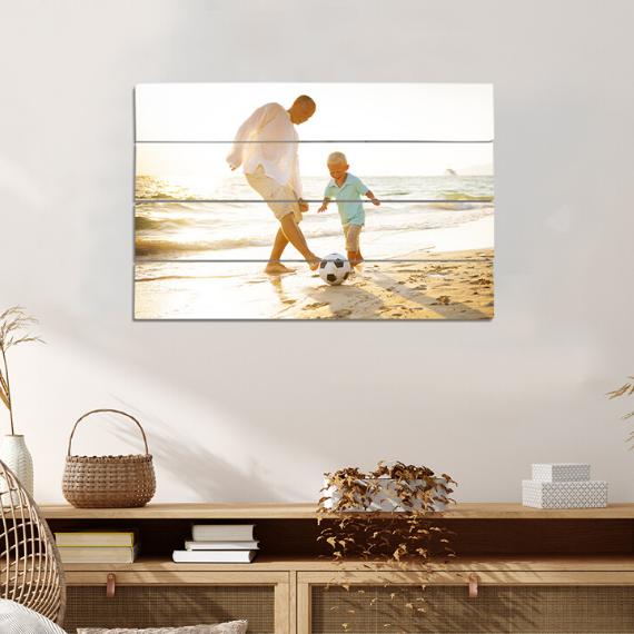 Product afbeelding: Foto op houten plank