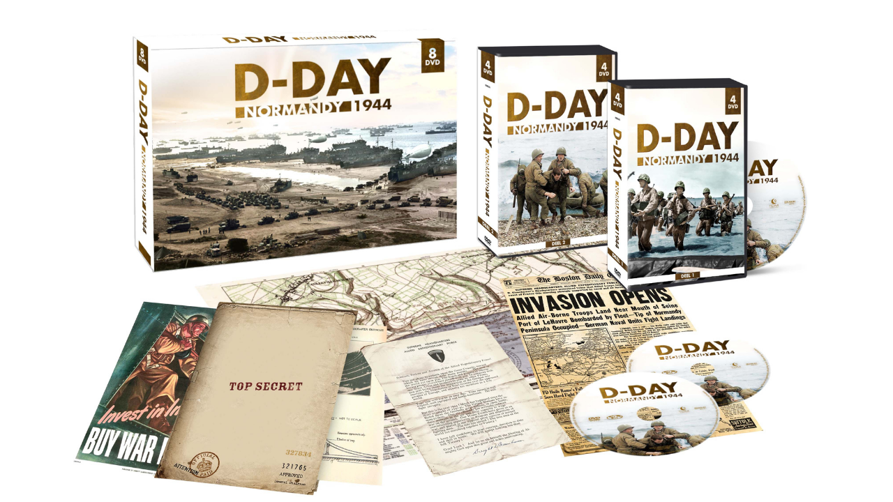 Product afbeelding: D-Day DVD Box