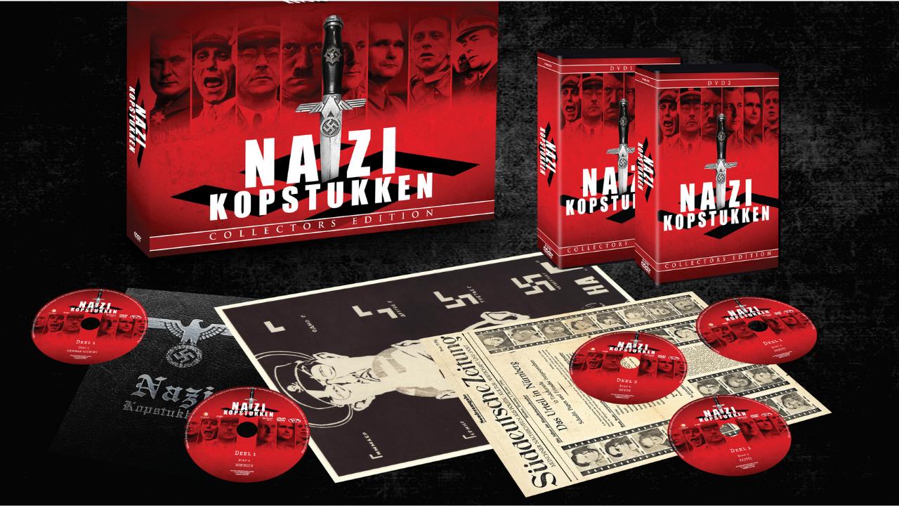 Product afbeelding: Nazi Kopstukken DVD Box