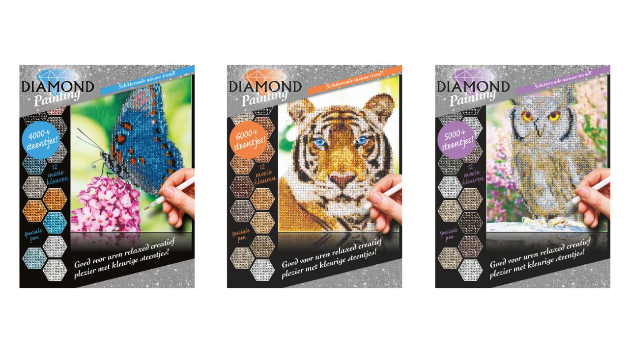 Product afbeelding: Diamond Paintings Pakket