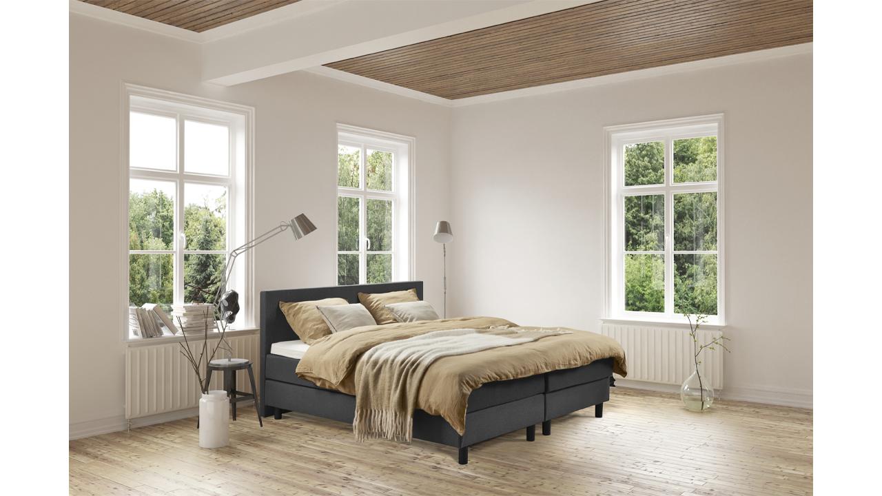 Product afbeelding: Boxspring Vlakke Box (Dubbel bed)
