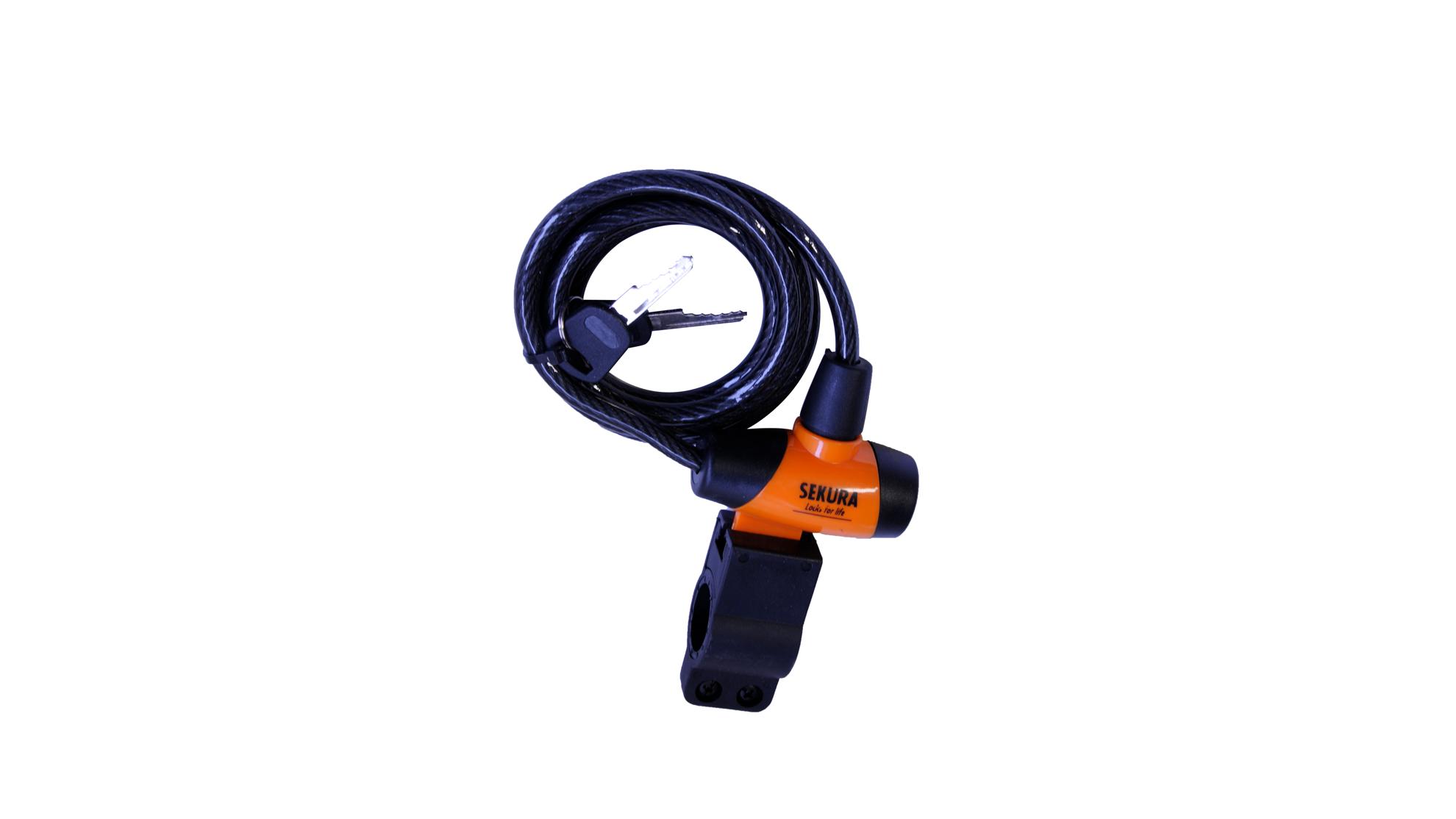 Product afbeelding: Spiraalkabelslot fiets