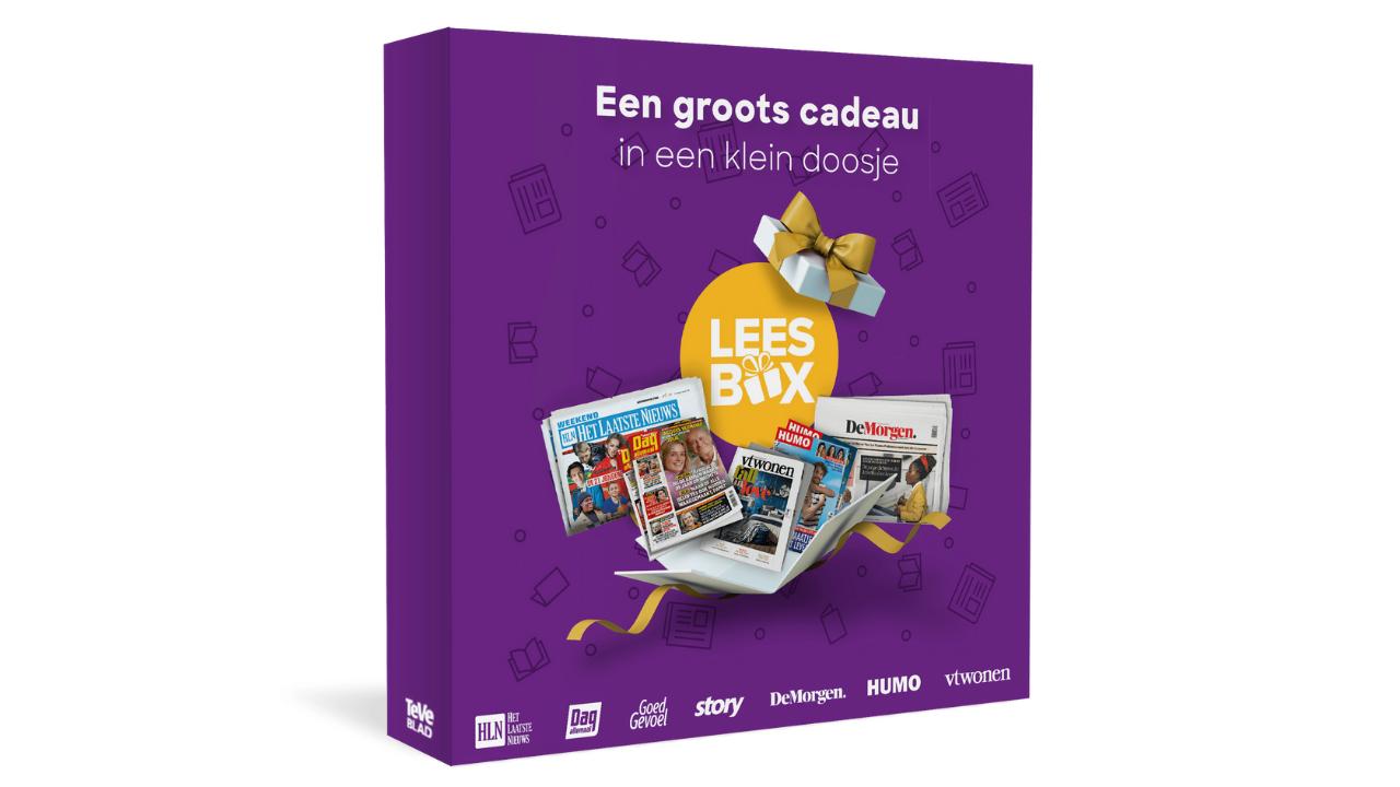 Product afbeelding: Leesbox Deluxe