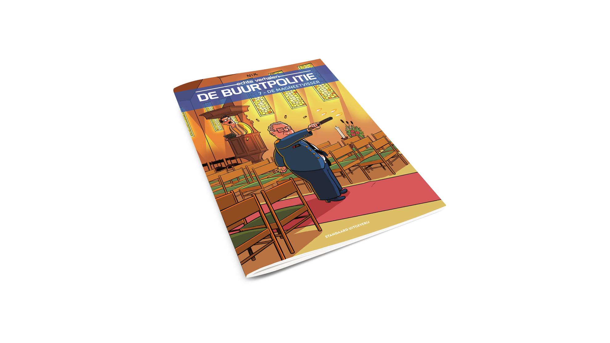 Product afbeelding: De Buurtpolitie strip 7 - De magneetvisser