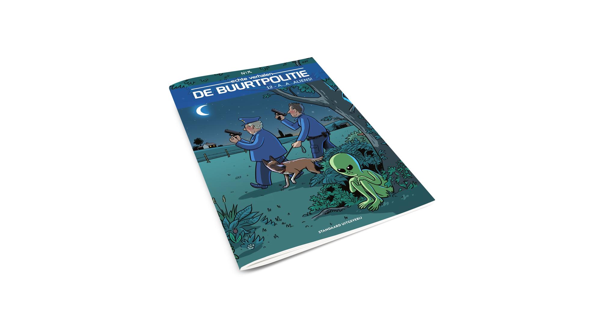 Product afbeelding: De Buurtpolitie strip 12 - A…a…aliens!