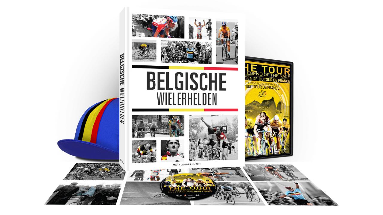 Product afbeelding: Belgische Wielerhelden Box