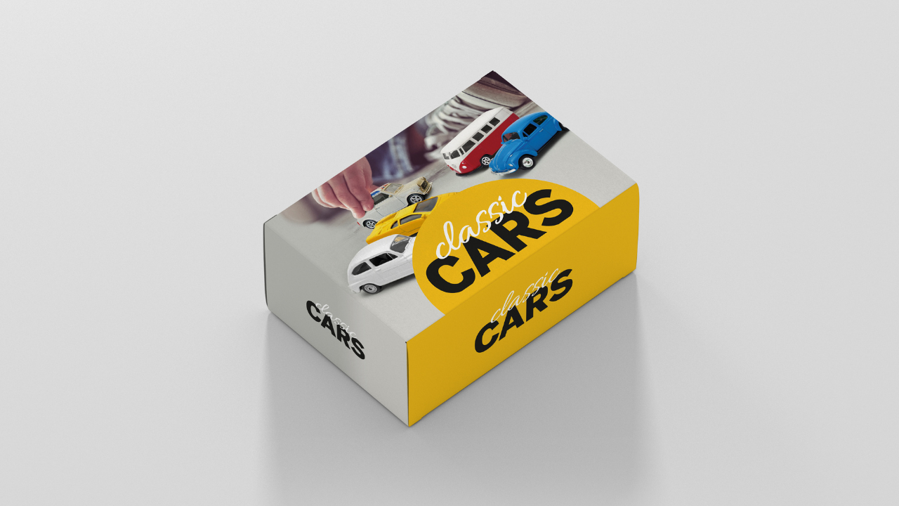 Product afbeelding: 10 Classic Cars Box 3