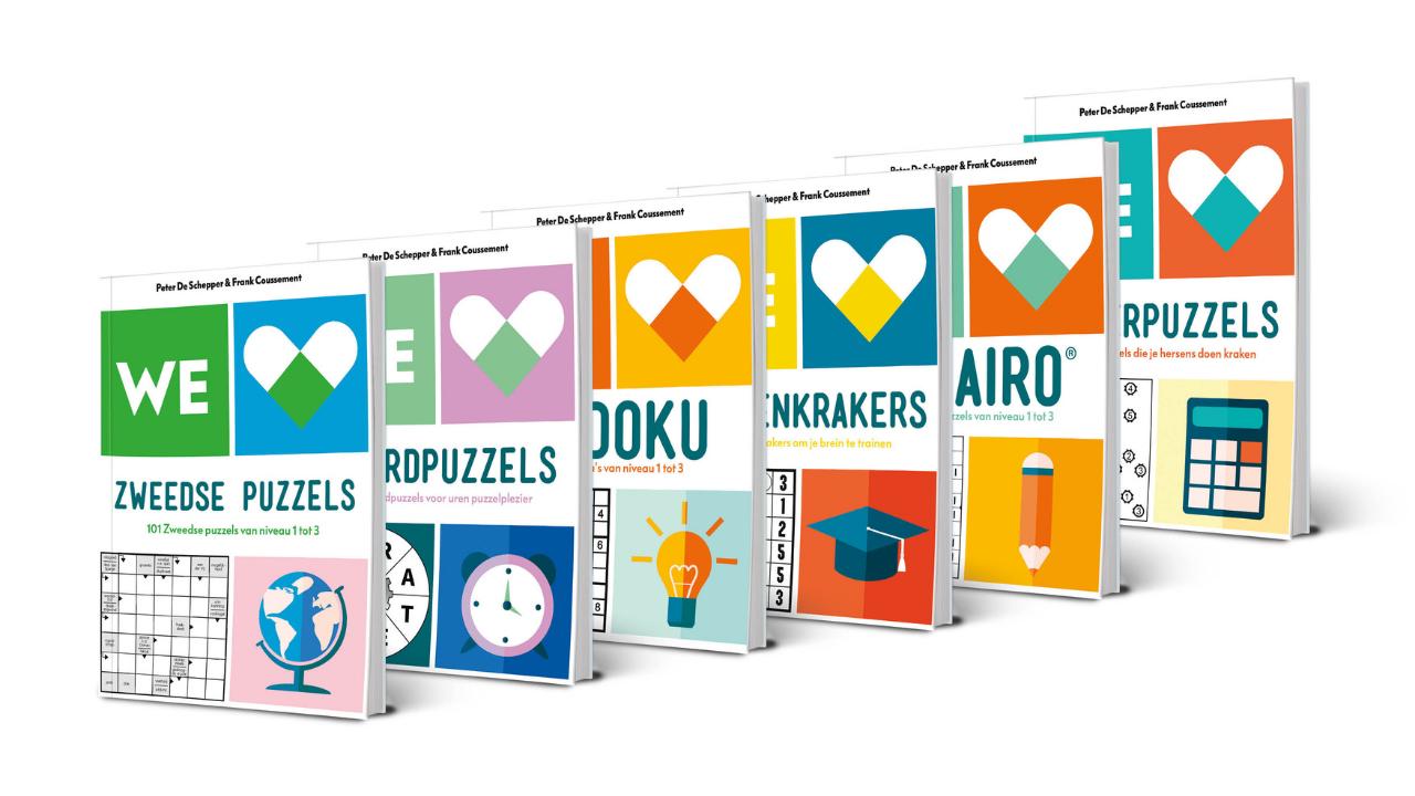Product afbeelding: We Love Puzzels Pakket